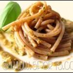 Pesto senza pinoli e frutta a guscio