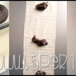 Bocconcini di pasta fillo, miele e cioccolato