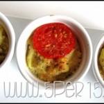 Cocotte di patate, cipolle e pomodori