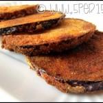 Melanzane violette fritte classiche e vegan